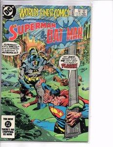 DC Comics World's Finest Comics #303 VF+ Ed Hannigan Klaus Janson Cover