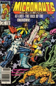 Micronauts (Vol. 2) #2 (Newsstand) FN; Marvel | save on shipping - details insid