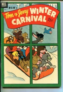 TOM AND JERRY WINTER CARNIVAL #1-1952-MGM CARTOONS-SOUTHERN STATES-vf-
