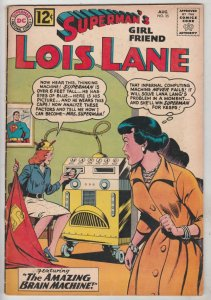 Lois Lane, Superman's Girlfriend  #35 (Aug-62) FN+ Mid-High-Grade Superman, L...