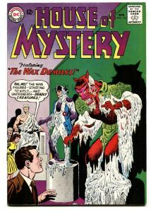 HOUSE OF MYSTERY #142 1964 DC COMICS HOUSE OF WAX VF+