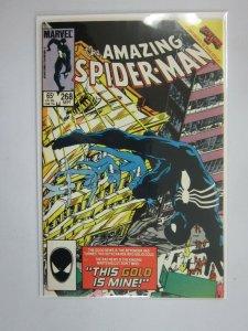 Amazing Spider-Man #268 Direct edition 8.5 VF+ (1985 1st Series)