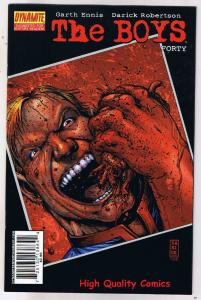 THE BOYS #40, NM, Garth Ennis, Darick Robertson, 2006, more in store
