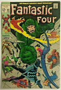FANTASTIC FOUR#83 VG 1968 MARVEL SILVER AGE COMICS