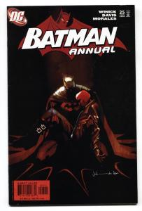 Batman Annual #25-Resurrection of JASON TODD -Red Hood origin 2006