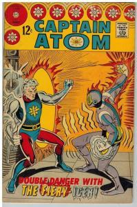 CAPTAIN ATOM (1965-1967 CH) 87 VG-F Aug. 1967 COMICS BOOK