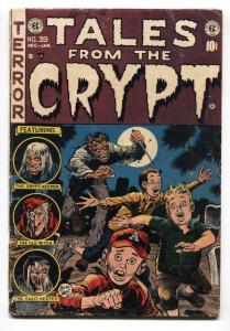 Tales From the Crypt #39 1954- EC Horror- Jack Davis- Kamen vg