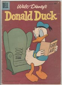 Donald Duck #52 (Mar-57) FN Mid-Grade Donald Duck