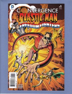Convergence Plastic Man and Freedom Fighters #1 NM
