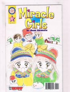 Miracle Girls # 4 VF/NM Chix Comic Books Manga Nami Akimoto Tokyo Pop Press! SW8
