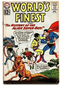 WORLD'S FINEST #124 comic book 1961- SUPERMAN- BATMAN-GREEN ARROW