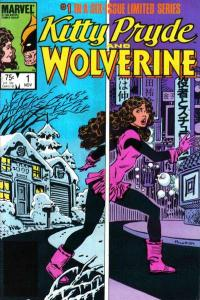 Kitty Pryde and Wolverine #1, VF+ (Stock photo)