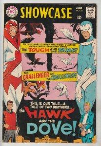 Showcase Comics #75 (Jun-68) FN/VF+ High-Grade Hawk and Dove
