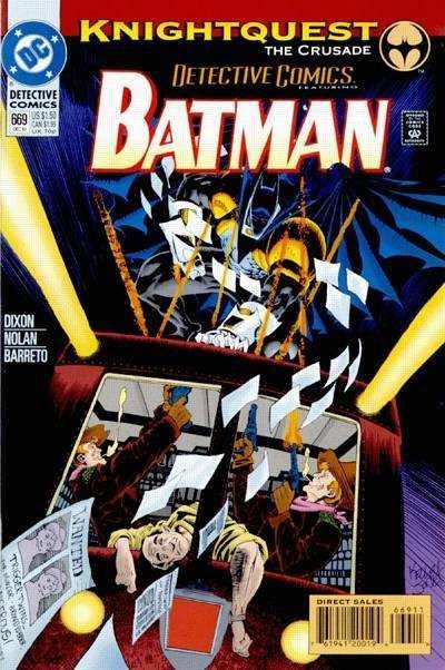 Detective Comics (1937 series) #669, VF (Stock photo)