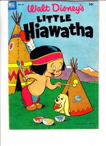 Four Color #439 (Dec-52) FN Mid-Grade Little Hiawatha