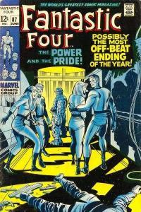 Fantastic Four (1961 series) #87, VG- (Stock photo)