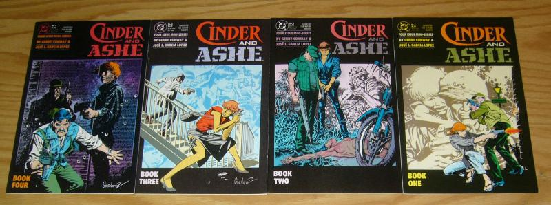 Cinder and Ashe #1-4 VF/NM complete series - gerry conway - dc comics 2 3 set