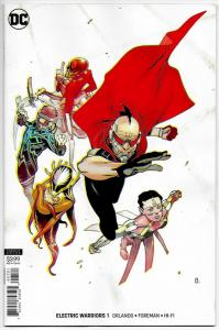 Electric Warriors #1 Variant Cvr (DC, 2019) NM