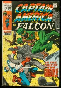 CAPTAIN AMERICA #140 1971-FALCON-MARVEL COMICS FN