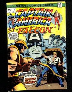 Captain America #179