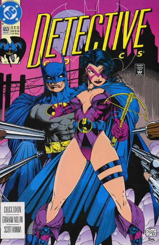 Detective Comics #653 VF/NM; DC | save on shipping - details inside