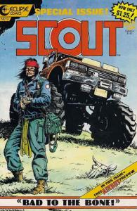 Scout #9 VF/NM; Eclipse | save on shipping - details inside