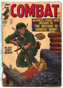 COMBAT #4 1952-Korean War- Joe Sinnott G-