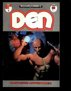 10 Den Fantagor Comics # 1 2 3 4 5 6 7 8 9 10 Science Fantasy Adventure JF16