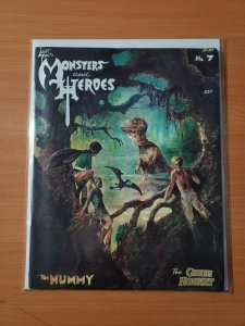 Monsters and Heroes #7 ~ VF - NEAR MINT NM ~ 1970 Green Hornet The Mummy