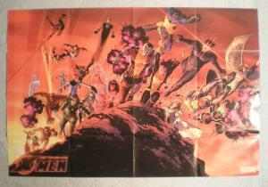 ASTONISHING X-MEN Promo Poster, 36x24, 2008, Unused, more Promo in store