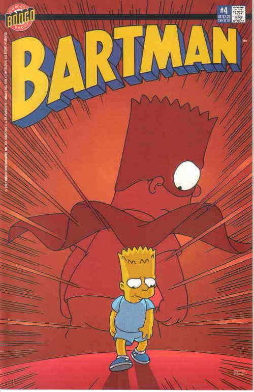 Bartman #4 VF/NM; Bongo | save on shipping - details inside