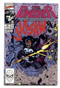 Punisher #36 1990 Marvel Jigsaw issue-comic book