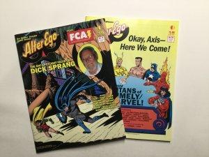 Alter Ego Volume 3 11-20 Fanzine Magazine Near Mint Nm TwoMarrows Publishing