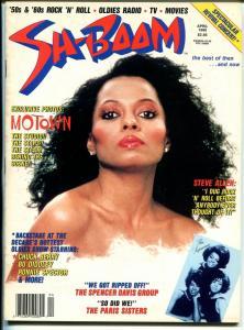 Sh-Boom #4 4/1990-LPF-Dianna Ross-Motown-Chuck Berry-Steve Allen-VG