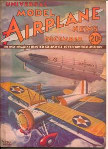 Model Airplane News-12/1933-pulp style cover-Navy Zeppelin-Kotula-P