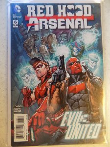 RED HOOD AND ARSENAL # 6