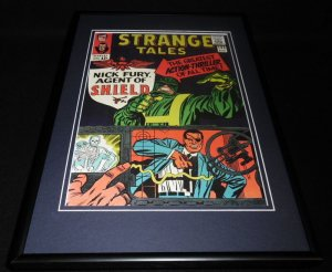 Strange Tales #135 Nick Fury Framed 12x18 Cover Photo Poster Display Official RP