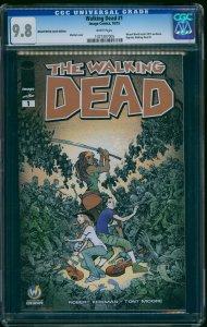 Walking Dead Wizard World Austin Edition #1 CGC NM/M 9.8 White