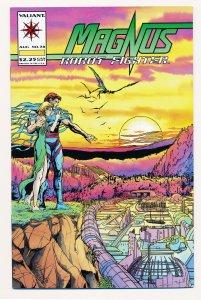 Magnus Robot Fighter (1991 Valiant) #38 NM