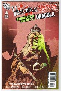 VICTORIAN UNDEAD 3, VF+, Sherlock Holmes vs Dracula, 2011