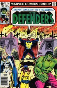 Defenders, The #75 FN; Marvel | save on shipping - details inside