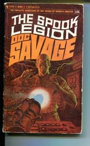 DOC SAVAGE-THE SPOOK LEGION-#16-ROBESON-VG- JAMES BAMA COVER-1ST EDITION VG