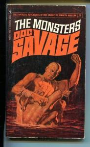 DOC SAVAGE-THE MONSTERS-#7-ROBESON-VG-COVER JAMES BAMA- VG