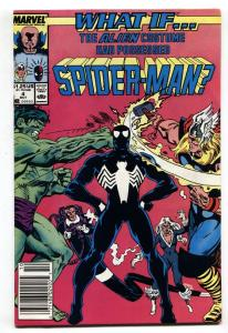 What If #4 newsstand 1989 comic book Venom possess Hulk-Marvel Comics