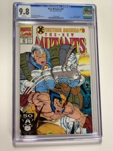 New Mutants 97 Cgc 9.8 White Pages Marvel X-men 007