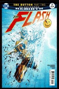 Batman #21 Rebirth Flash Cover (Jun 2017, DC) 0 9.4 NM