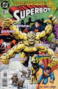 Superboy (1994 series) #70, NM + (Stock photo)