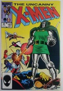 The Uncanny X-Men #197 - Colossus & Shadowcat main story- NM - Marvel Comics 85