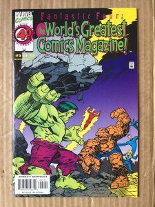 The Worlds Greatest Comics Magazine Fantastic Four #5