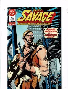 Lot of 4 Doc Savage Comics DC Comic Books #1 2 3 4 TW44